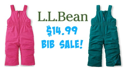 c689ac68687f L.L. Bean Sale  Infant   Toddler Snow Bibs