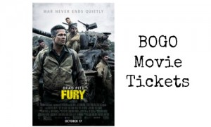 bogo movie tickets fandango
