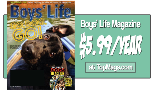 boys life magazine subscriptions