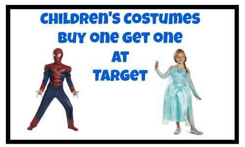 childrens costumes bogo target