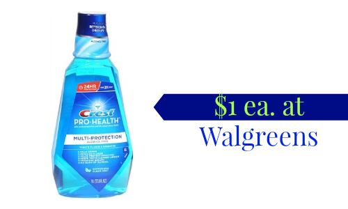 crest deal at Walgreens