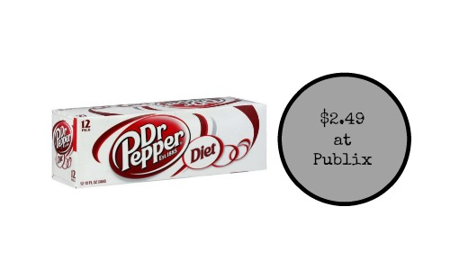 diet dr pepper publix