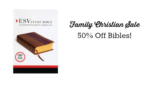 family christian sale