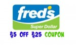 Fred's Coupon: $5 Off $25 Purchase