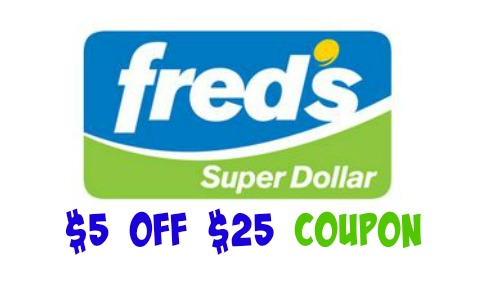 fred's coupon