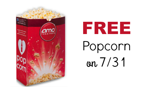 free amc popcorn