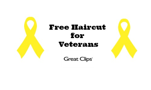 great clips free haircut veterans