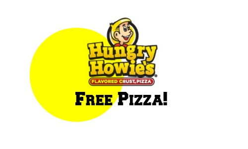 free hungry howies pizza