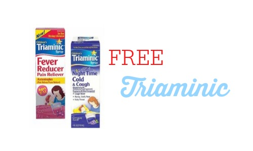 FREE Triaminic at CVS...