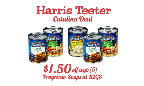 harris teeter catalina deal progresso