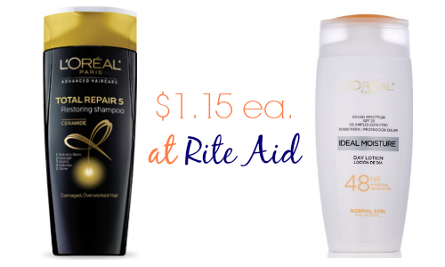 l'oreal deal at rite aid