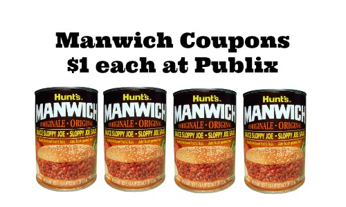 Printable Coupons: Chef Boyardee, Manwich and More