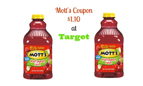 motts coupon target