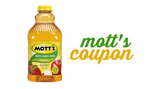 mott's coupon