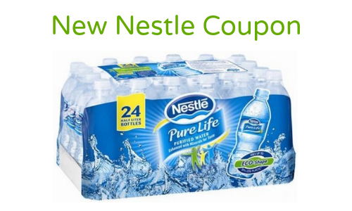 nestle water coupon