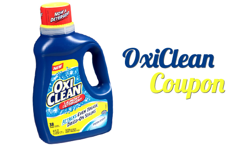 oxiclean coupon