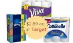 Target Deal: Cottonelle, Kleenex & Viva, $2.89 Each, 10/19 Only