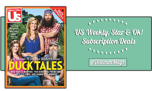 US WEEKLY MAGAZINE SUBSCRIPTION Save with this special price while it lasts. Up to 3 year subscriptions available. Us Weekly Magazine covers film, video, television and contemporary music.