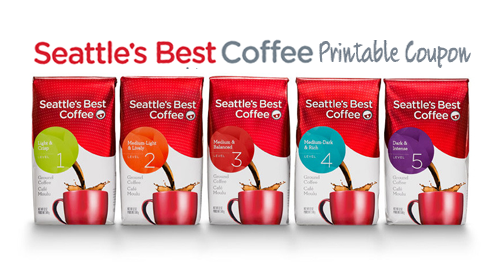 seattles best coffee printable coupon