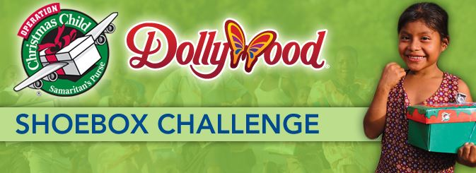 Dollywood Shoebox Challenge: FREE Dollywood Tickets