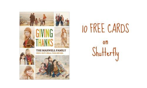 shutterfly coupon code cards