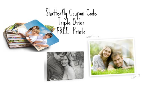 shutterfly coupon code triple