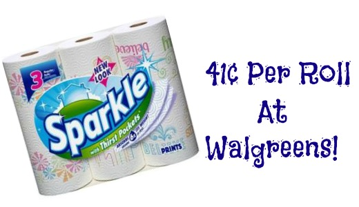Coupon for sparkle paper towels 2018