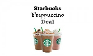 starbucks frappuccino deal