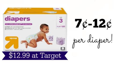 target diaper deal