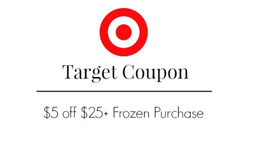 target frozen coupon