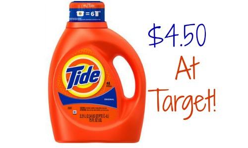tide at target