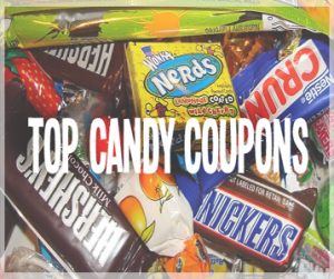 top candy coupons button