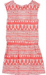 tribal tee dress