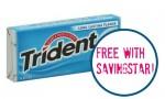 Savingstar eCoupon: FREE Trident Gum