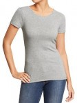 Women's Perfect Crew-Neck Tees - Light Heather Gray