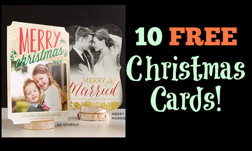 10 free christmas cards