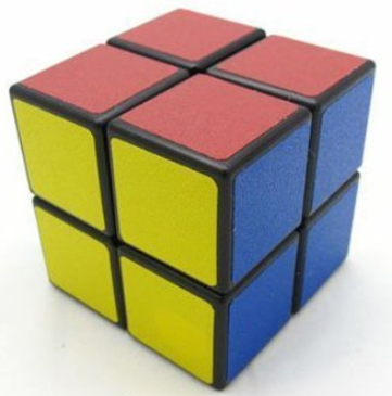2 by 2 rubiks cube
