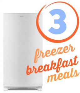 3 Freezer Breakfast Meals