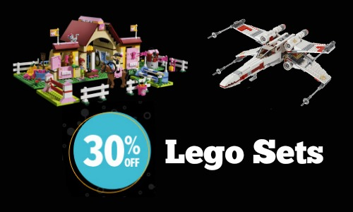 30 off Lego sets
