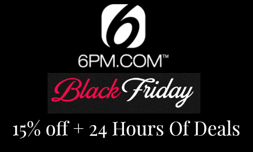 6pm black friday
