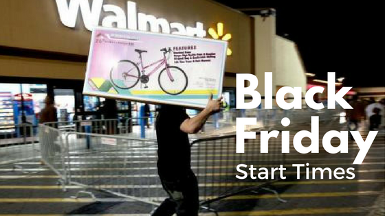 When does walmart start black friday online