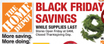 Home Depot Black Friday Ad 2014