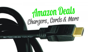 amazon deals chargers cords and more