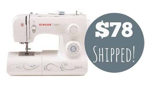 amazon sewing machine deal
