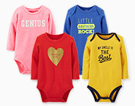 carters bodysuits