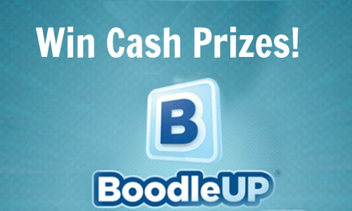 cash prizes with boodle up