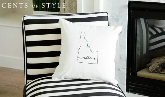 cents of style state pillow