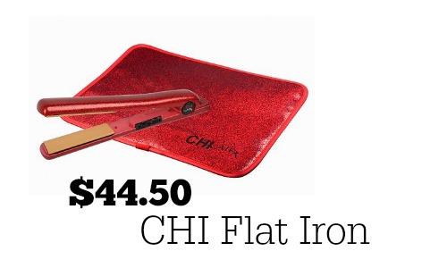 chi flat iron deals