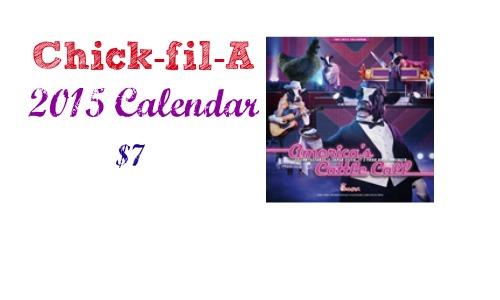 chick fil a calendar