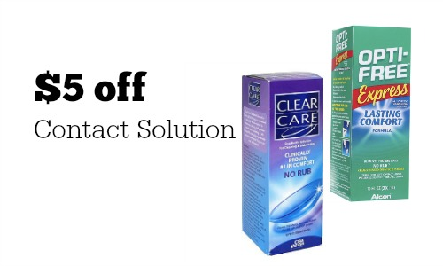 contact solution coupon